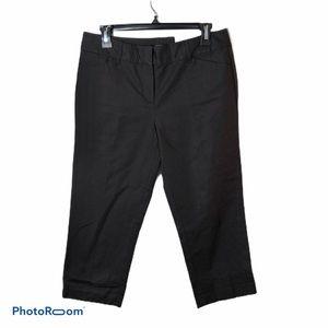 Ann Taylor Cropped Brown Pants NWT Sz 4